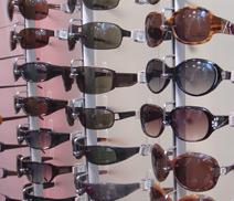 英国specsavers眼镜店眼镜展示架