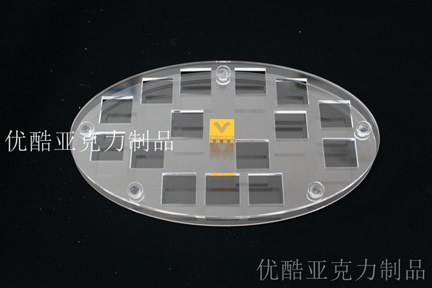 上海有机玻璃制作化妆品托架