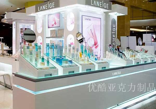 有机玻璃制品厂化妆品展柜