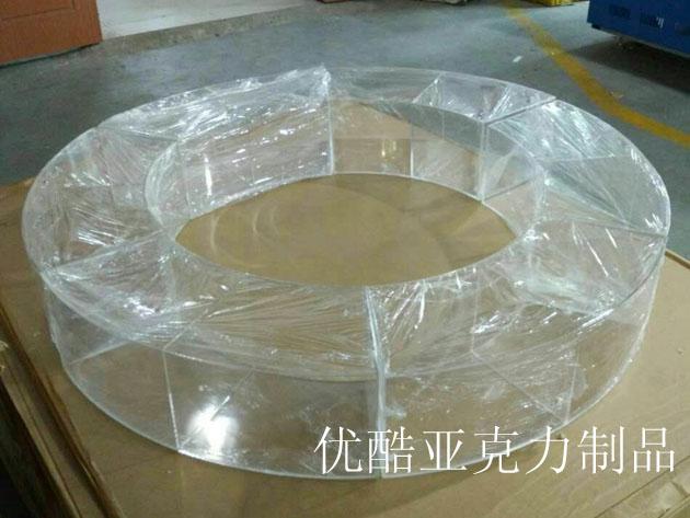 亚克力展柜圆形及方形制作及发货