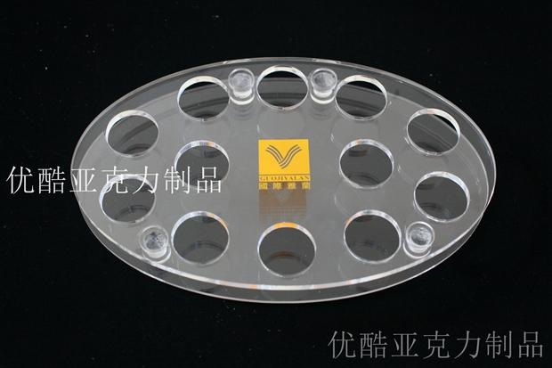 上海有机玻璃加工化妆品架