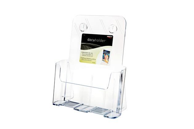 A4单层资料架有机玻璃加工77001