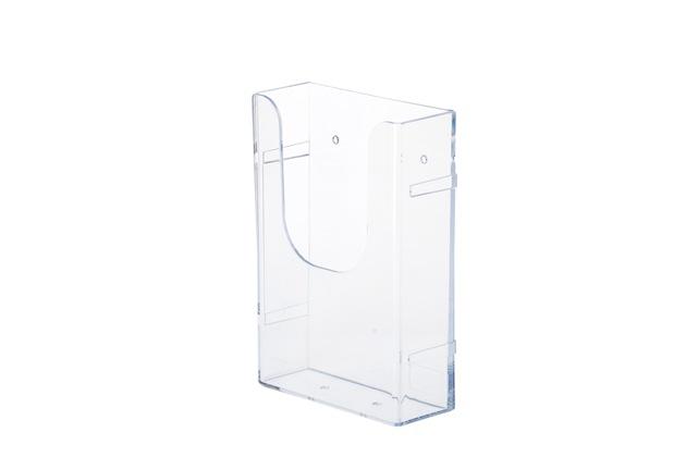 1/3A4挂墙有机玻璃展示架EXL-12