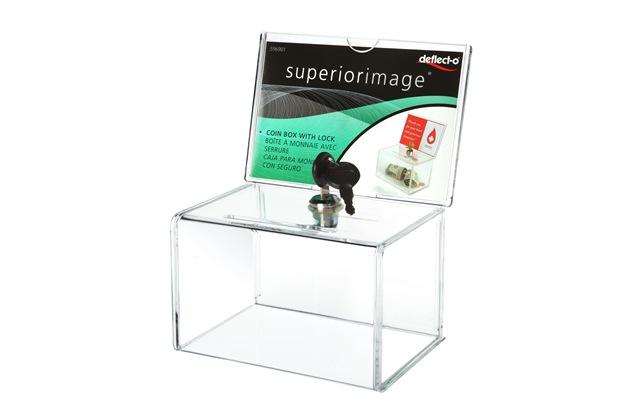 有机玻璃制品意见箱带锁596901