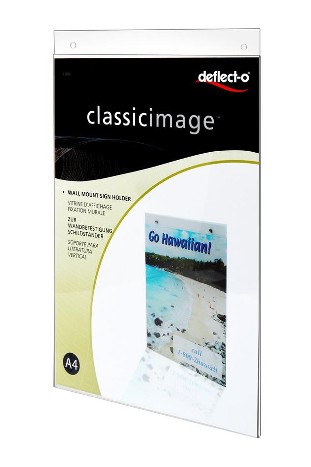 A4有机玻璃制品广告夹47001